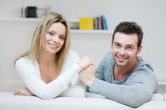 Young couple loving gesture Royalty Free Stock Photo