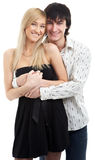 Young couple man and woman Royalty Free Stock Image