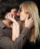 Young couple man and woman Stock Image