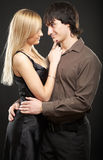 Young couple man and woman Royalty Free Stock Photography