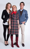 Young couple and mother in law Royalty Free Stock Photography