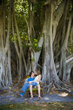 Young Couple Outdoors Royalty Free Stock Images