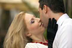 Young couple portrait Stock Photography