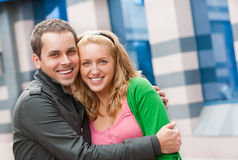 Young couple portrait Stock Images
