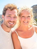 Young couple portrait Stock Photos