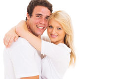 Young couple portrait Stock Photo