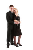 Young couple posing Royalty Free Stock Photography