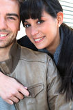 Young couple posing Royalty Free Stock Photos