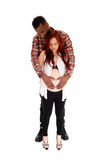 Young couple pregnant. Stock Photography