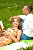 Young couple relaxing Royalty Free Stock Photos