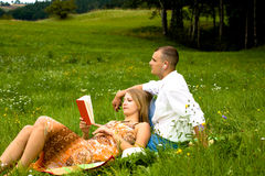 Young couple relaxing Stock Photo