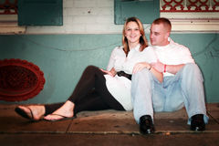Young Couple Relaxing Stock Photos