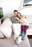 Young couple relaxing Stock Images