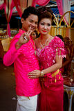A young couple's wedding in Kampot, Cambodia Royalty Free Stock Images