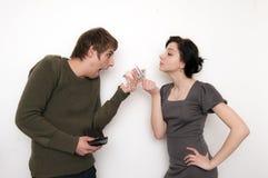 Young Couple Scene Stock Image