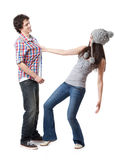 Young Couple Series Royalty Free Stock Photo