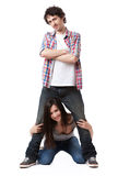 Young Couple Series Royalty Free Stock Photography