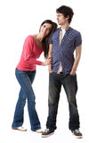 Young Couple Series Royalty Free Stock Photos