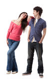 Young Couple Series Stock Photography