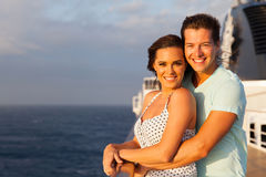 Young couple ship Stock Photos