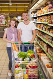 Young couple shopping Royalty Free Stock Photography