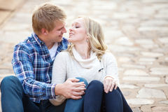 Young couple spending time together Stock Image