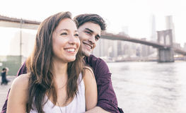 Young couple spending time together Stock Photos