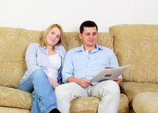 Young couple spends time together Stock Photos