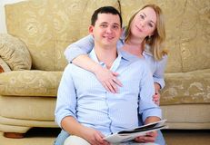 Young couple spends time together Stock Photography