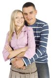 Young couple standing Royalty Free Stock Images