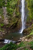 Tropical waterfalls in Costa Rica Stock Image