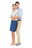 Young couple standing Stock Photo