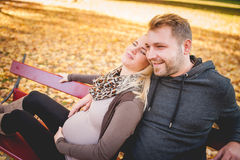 Young couple thinking about the future Royalty Free Stock Photo