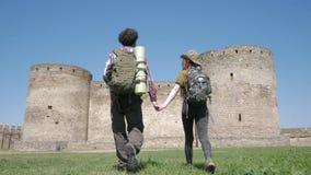Couple of travelers
