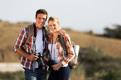 Young couple traveling Royalty Free Stock Image