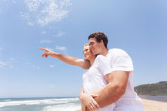 Young couple vacation Stock Image