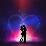 Young couple for Valentine's Day celebration. Stock Image