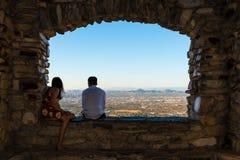 Young Couple Views Phoenix stock photos