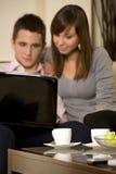 Young couple w Stock Photos