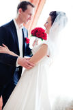 Young couple wedding royalty free stock images