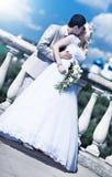 Young couple wedding Stock Photos