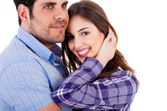 Young couples enjoying their love Stock Image