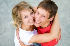 Young  couples in love Royalty Free Stock Image