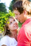 Young  couples in love Royalty Free Stock Photography