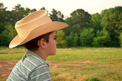 Young Cowboy Royalty Free Stock Photos
