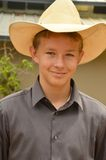 Young Cowboy. Portraits of a young cowboy in western attire Royalty Free Stock Photo