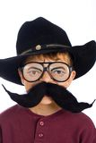 Young cowboy costume Royalty Free Stock Images