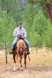 Young cowboy Royalty Free Stock Images