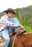 Young cowboy Royalty Free Stock Photos