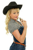 Young cowgirl Royalty Free Stock Photos
